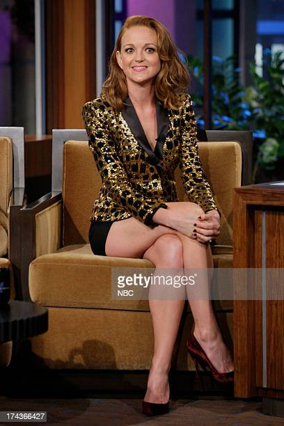 Actress Jayma Mays during an interview on July 24 2013