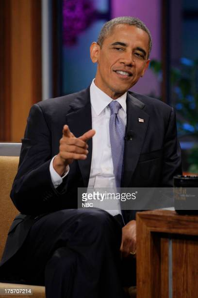 President Barack Obama during an interview on August 6 2013