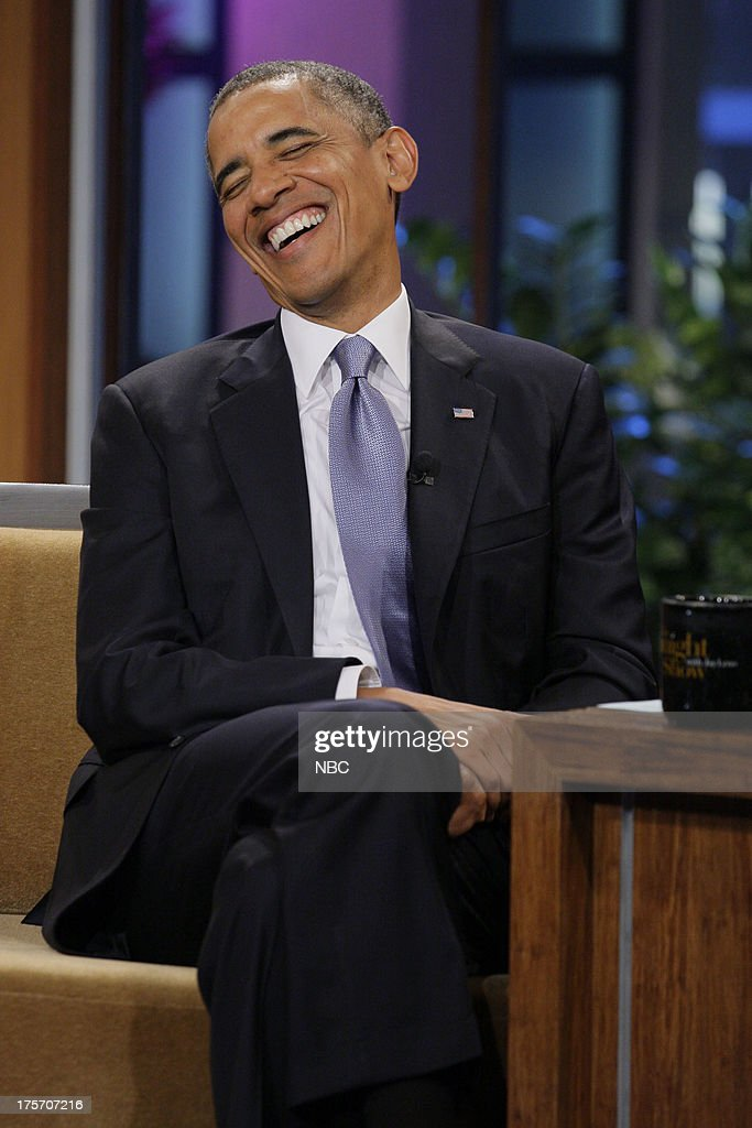 President <a gi-track='captionPersonalityLinkClicked' href=/galleries/search?phrase=Barack+Obama&family=editorial&specificpeople=203260 ng-click='$event.stopPropagation()'>Barack Obama</a> during an interview on August 6, 2013 --