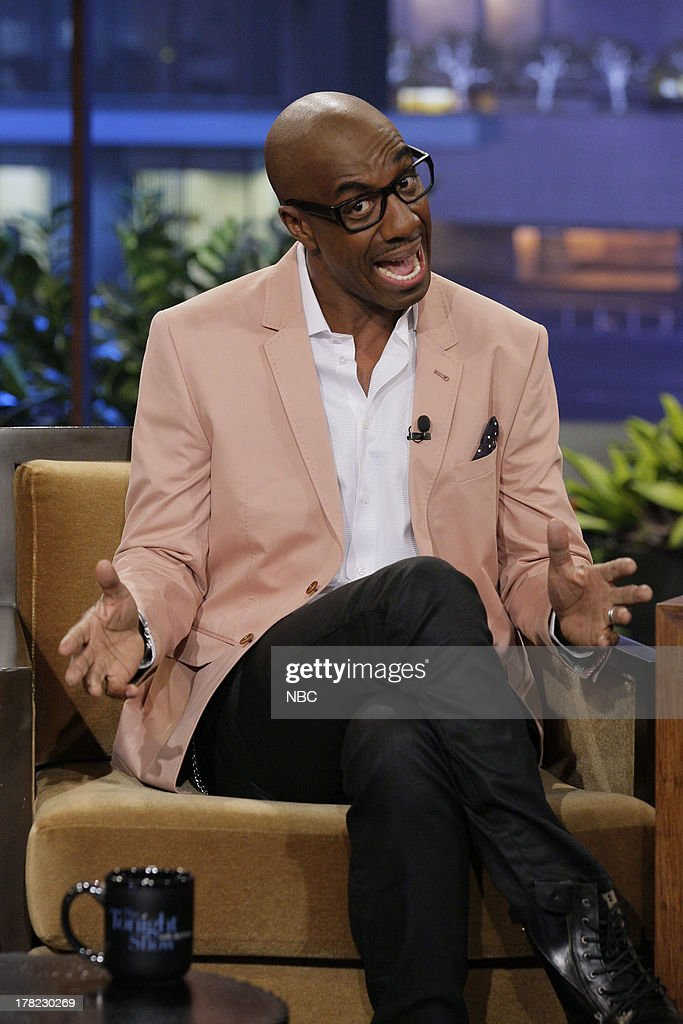 Comedian J.B. Smoove during an interview on August 27, 2013 --