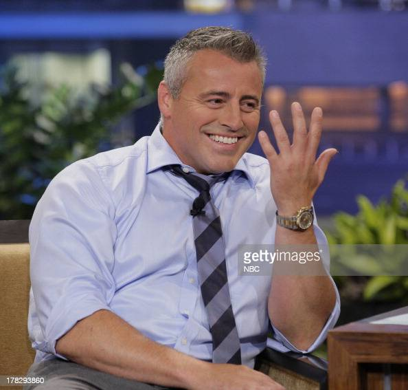 """NBC's """"The Tonight Show With Jay Leno"""" With Guests Matt"""