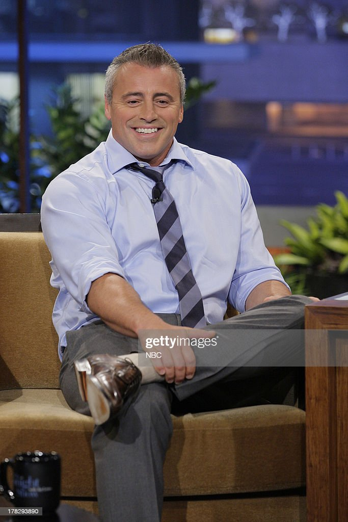 Actor <a gi-track='captionPersonalityLinkClicked' href=/galleries/search?phrase=Matt+LeBlanc&family=editorial&specificpeople=204471 ng-click='$event.stopPropagation()'>Matt LeBlanc</a> during an interview on August 28, 2013 --