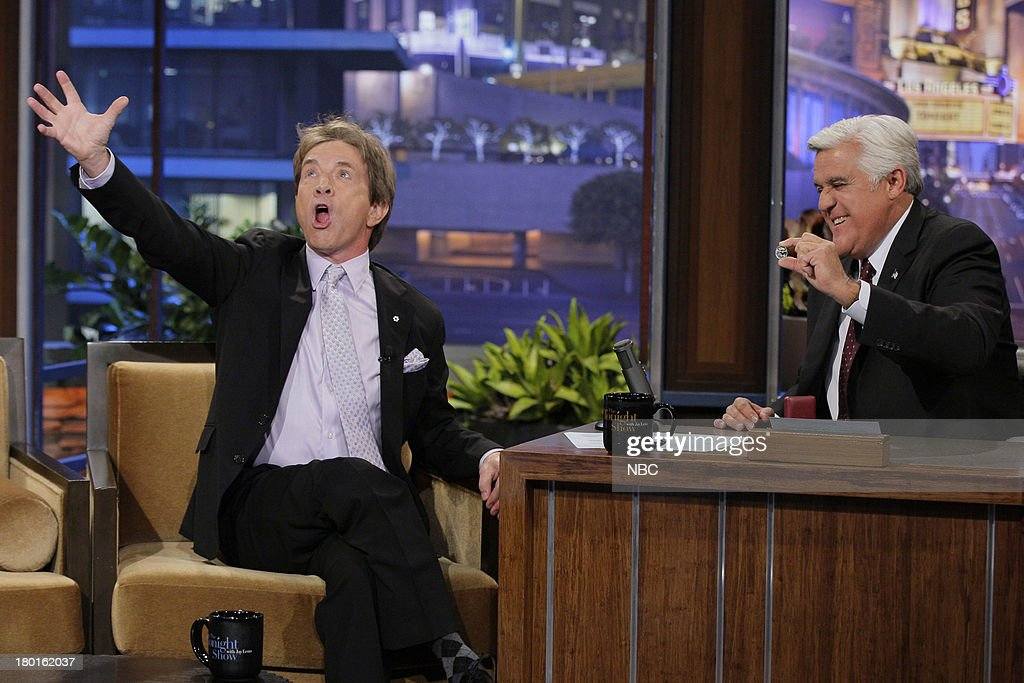 Actor Martin Short during an interview with host Jay Leno on September 9, 2013 --