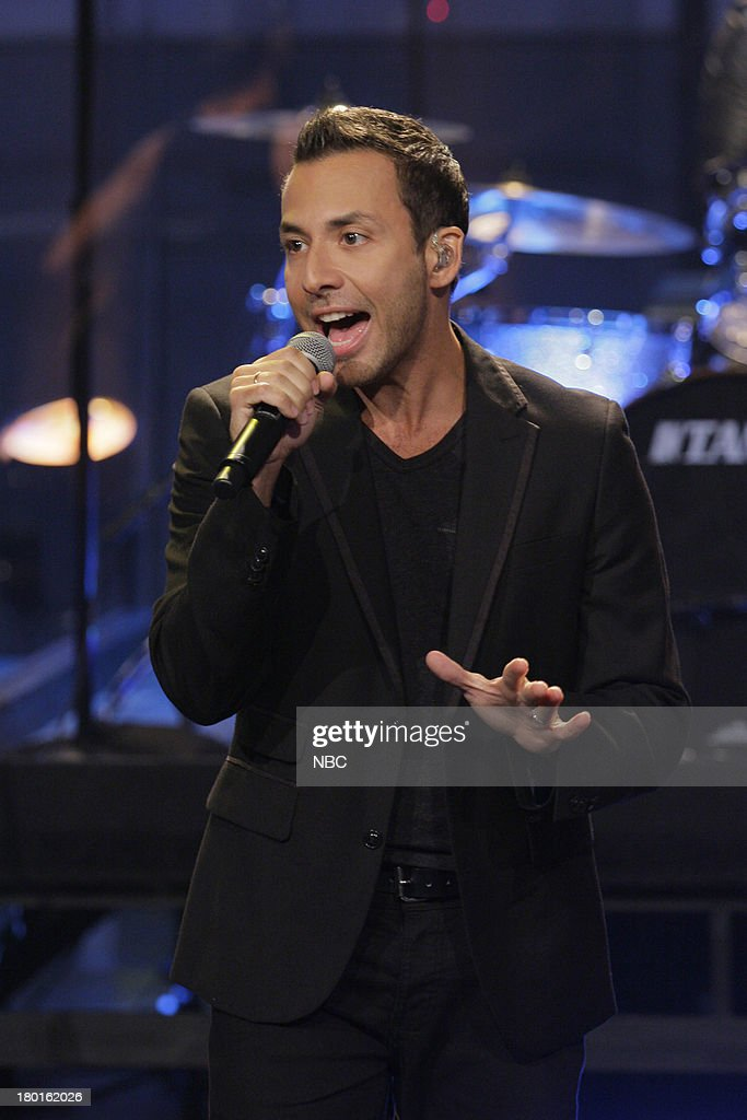 <a gi-track='captionPersonalityLinkClicked' href=/galleries/search?phrase=Howie+Dorough&family=editorial&specificpeople=204770 ng-click='$event.stopPropagation()'>Howie Dorough</a> of musical guest The Backstreet Boys performs on September 9, 2013 --