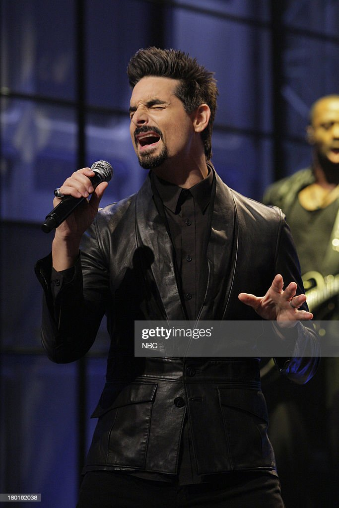 Kevin Richardson of muscial guest The Backstreet Boys performs on September 9, 2013 --