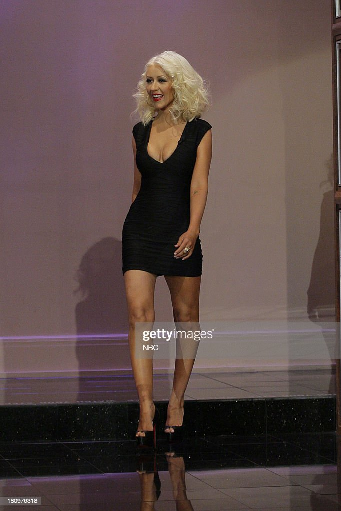 Christina Aguilera arrives on September 18, 2013 --