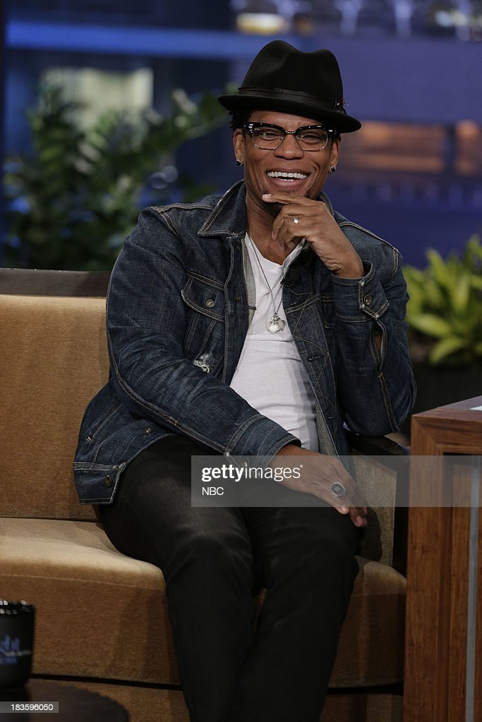 Comedian D.L. Hughley during an interview on October 7, 2013 --