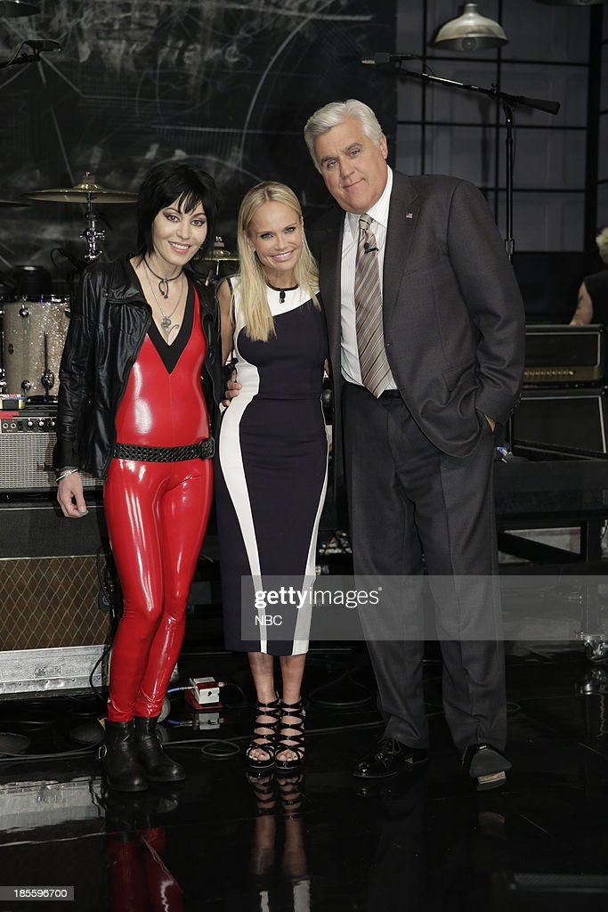 "NBC's ""The Tonight Show with Jay Leno"" With Guests Kristin Chenoweth, Ross Matthews, Joan Jett and the Blackhearts"
