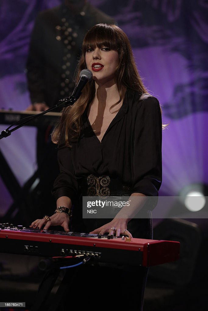 Musical guest Diane Birch performs on October 24, 2013 --