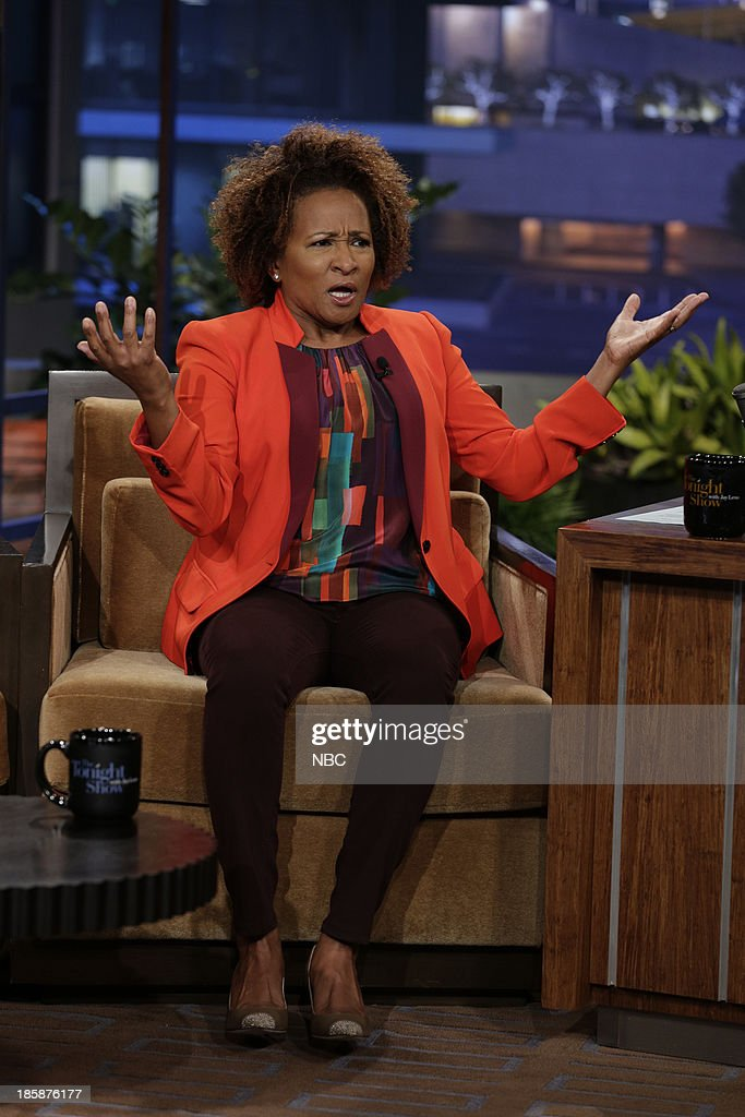 Comedian <a gi-track='captionPersonalityLinkClicked' href=/galleries/search?phrase=Wanda+Sykes&family=editorial&specificpeople=208075 ng-click='$event.stopPropagation()'>Wanda Sykes</a> during an interview on October 25, 2013 --