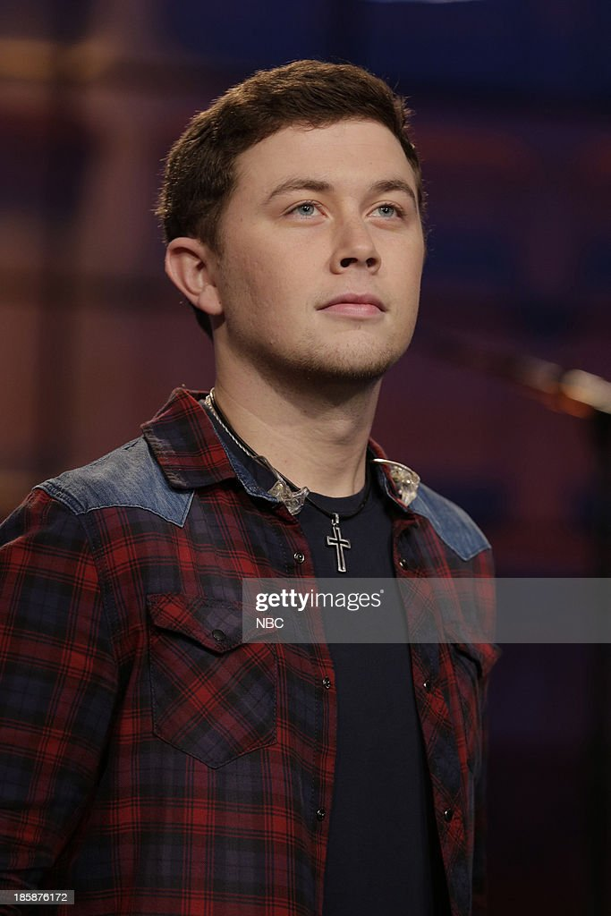 Musical guest Scotty McCreery on October 25, 2013 --