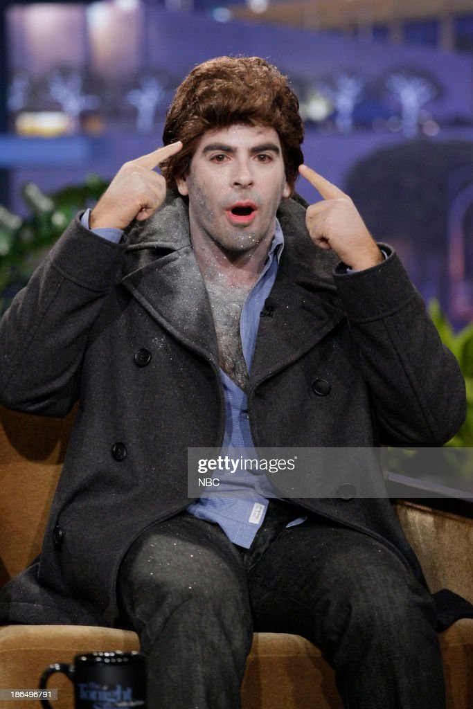 Director Eli Roth during an interview on October 31, 2013 --