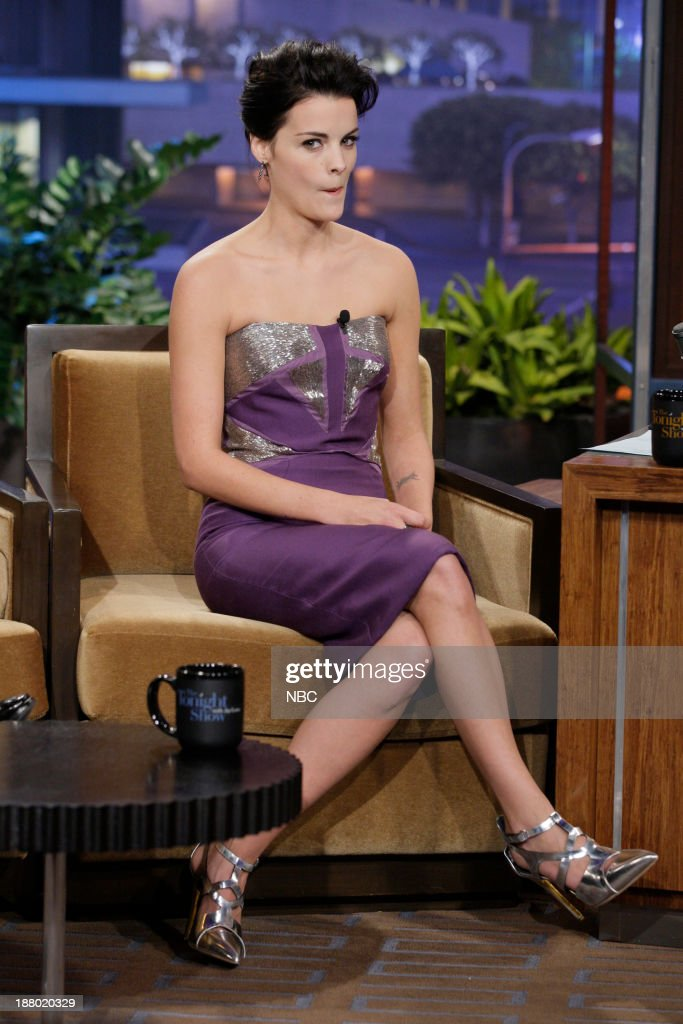 Actress <a gi-track='captionPersonalityLinkClicked' href=/galleries/search?phrase=Jaimie+Alexander&family=editorial&specificpeople=544496 ng-click='$event.stopPropagation()'>Jaimie Alexander</a> during an interview on November 14, 2013 --