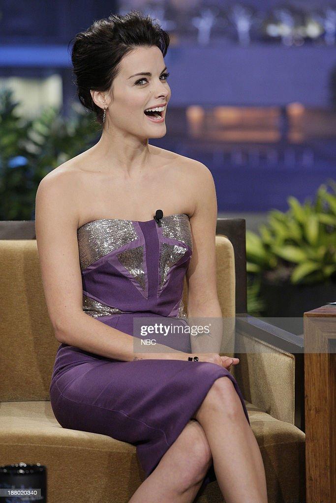 Actress Jaimie Alexander during an interview on November 14, 2013 --
