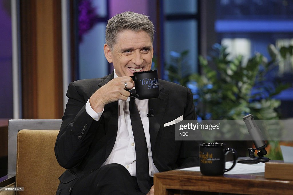 Talk show host <a gi-track='captionPersonalityLinkClicked' href=/galleries/search?phrase=Craig+Ferguson+-+Presentador+de+Talk+Show&family=editorial&specificpeople=204509 ng-click='$event.stopPropagation()'>Craig Ferguson</a> during an interview on November 14, 2013 --