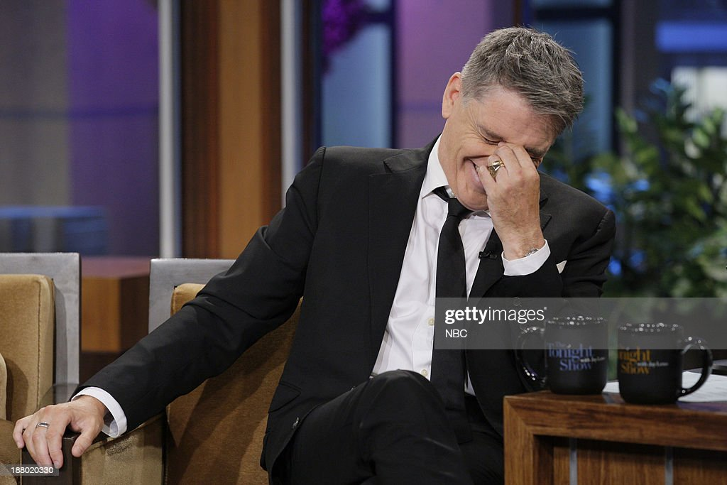Talk show host <a gi-track='captionPersonalityLinkClicked' href=/galleries/search?phrase=Craig+Ferguson+-+Talk+Show+Host&family=editorial&specificpeople=204509 ng-click='$event.stopPropagation()'>Craig Ferguson</a> during an interview on November 14, 2013 --