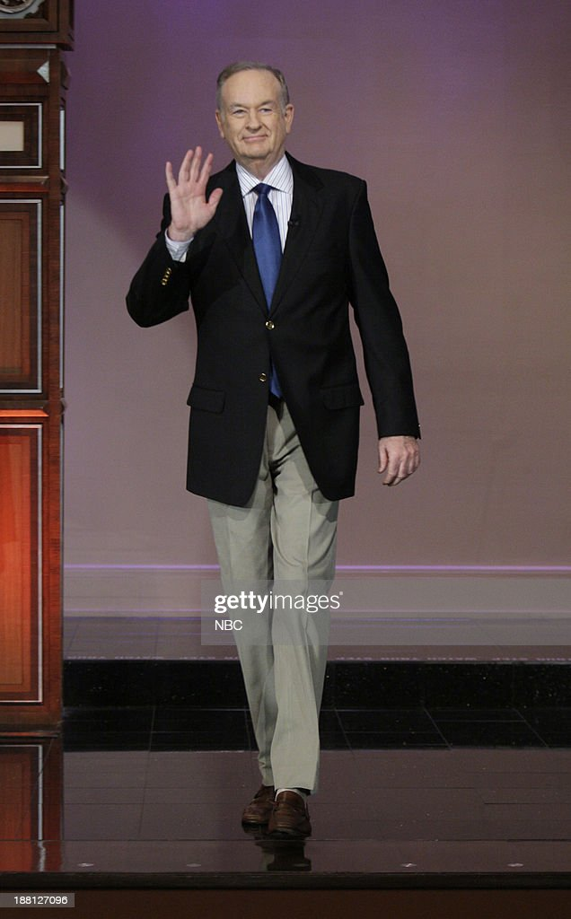 Talk show host Bill O'Reilly arrives on November 18, 2013 --