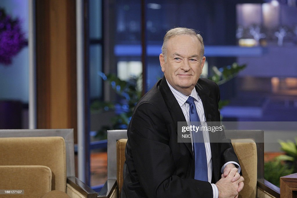 Talk show host Bill O'Reilly during an interview on November 18, 2013 --