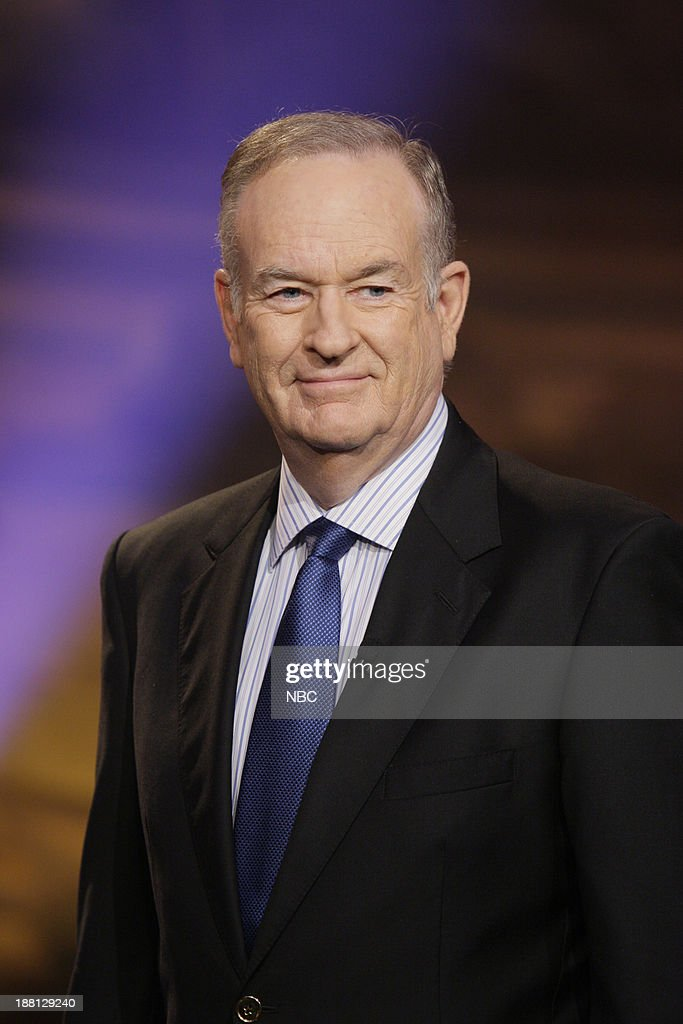 Talk show host Bill O'Reilly onstage November 18, 2013 --