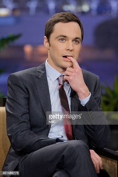 Actor Jim Parsons during an interview on November 22 2013