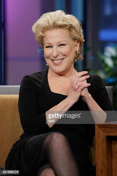 Bette Midler during an interview on November 25 2013