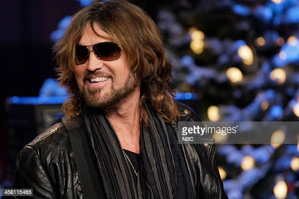 Musical guest Billy Ray Cyrus on December 13 2013
