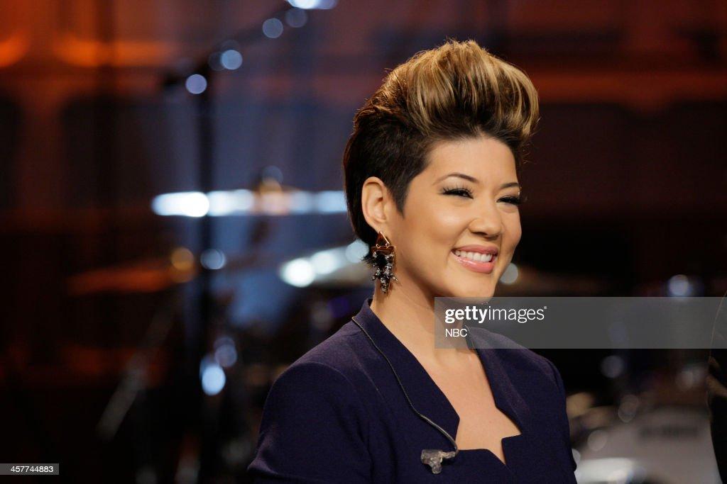 'The Voice' Winner Tessanne Chin on December 18 2013