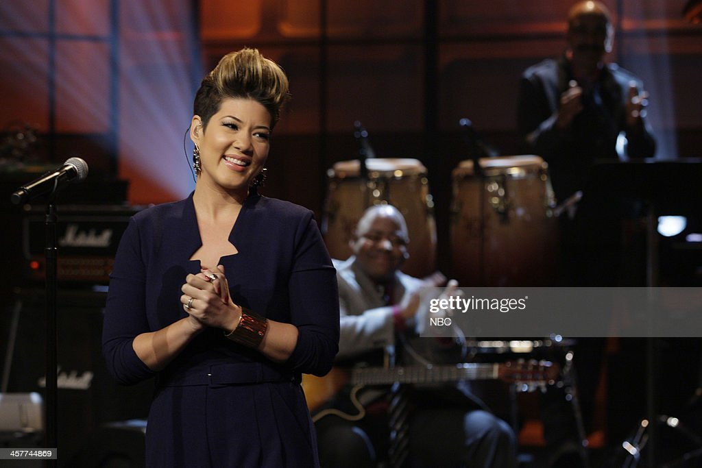 'The Voice' Winner Tessanne Chin performs on December 18 2013
