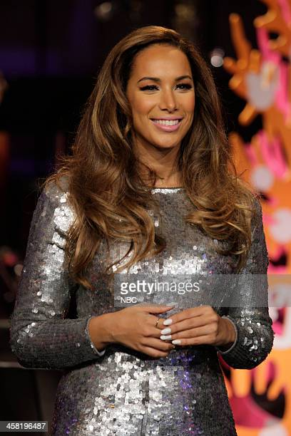 Musical guest Leona Lewis on December 20 2013