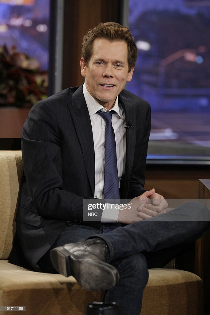 Actor Kevin Bacon during an interview on January 10 2014