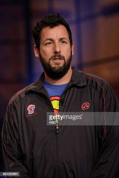 Comedian Adam Sandler on January 21 2014