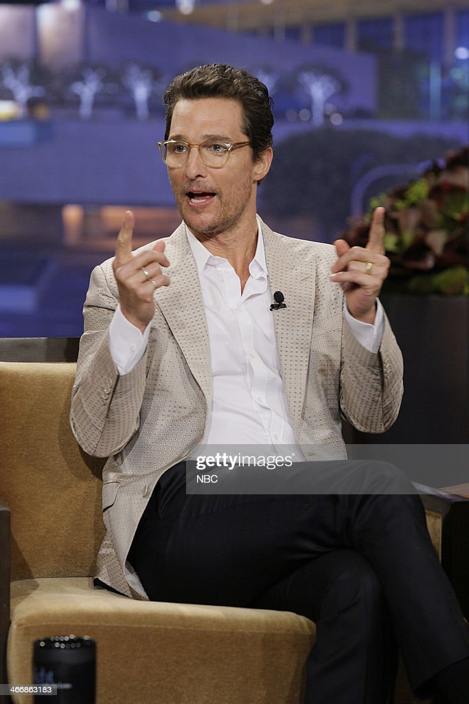 Actor <a gi-track='captionPersonalityLinkClicked' href=/galleries/search?phrase=Matthew+McConaughey&family=editorial&specificpeople=201663 ng-click='$event.stopPropagation()'>Matthew McConaughey</a>?during an interview on February 4, 2014 --