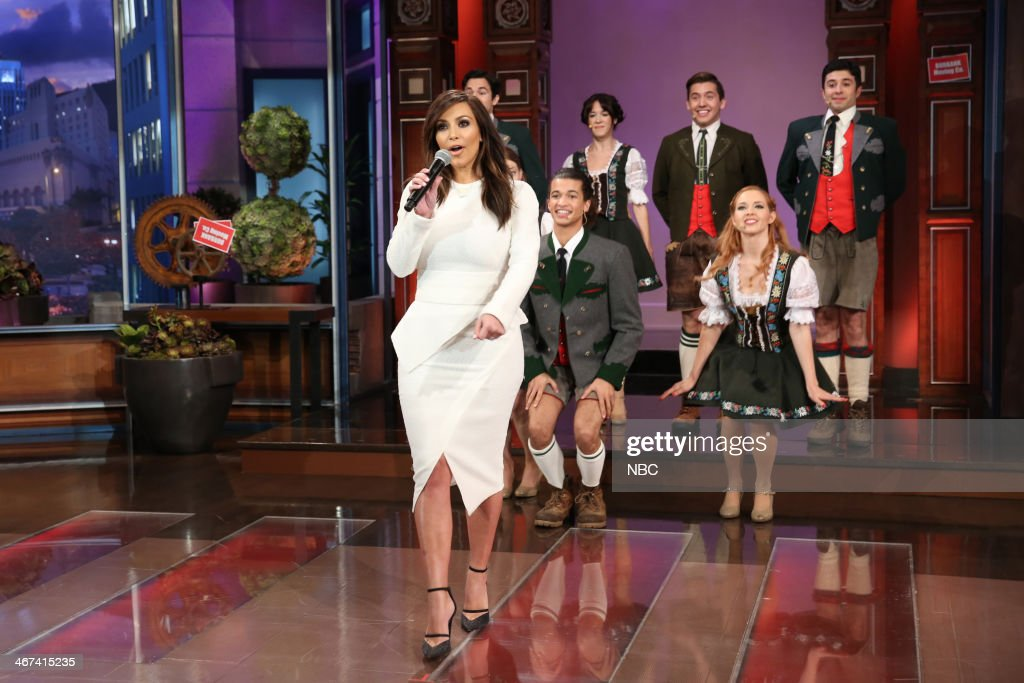 <a gi-track='captionPersonalityLinkClicked' href=/galleries/search?phrase=Kim+Kardashian&family=editorial&specificpeople=753387 ng-click='$event.stopPropagation()'>Kim Kardashian</a> performs during the 'Farewell Song' on February 6, 2014 --