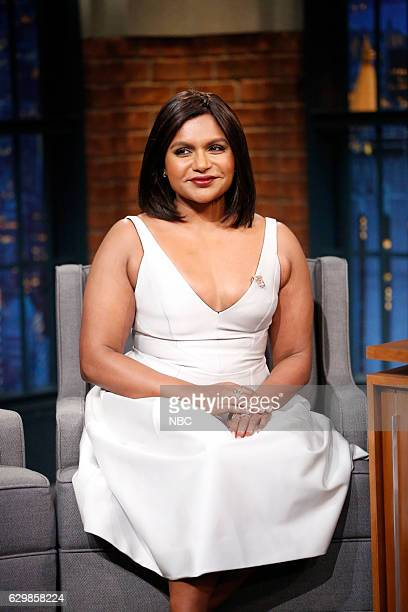 Actress Mindy Kaling during an interview on December 14 2016