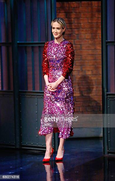 Actress Sarah Paulson arrives on December 19 2016