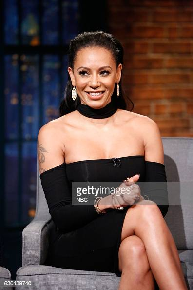 Television personality Mel B during an interview on December 22 2016