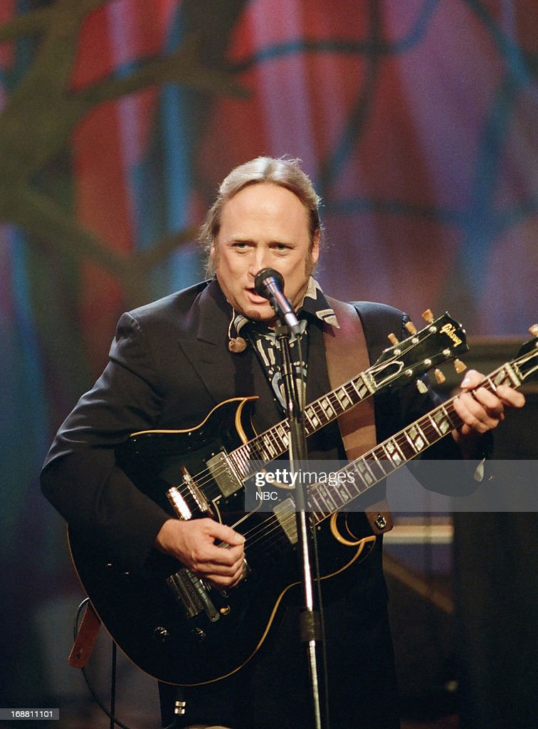 Stephen Stills of musical guest 'Crosby Stills Nash during a performance on May 31 1994