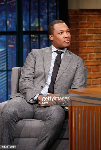 Actor Corey Hawkins during an interview on January 30 2017