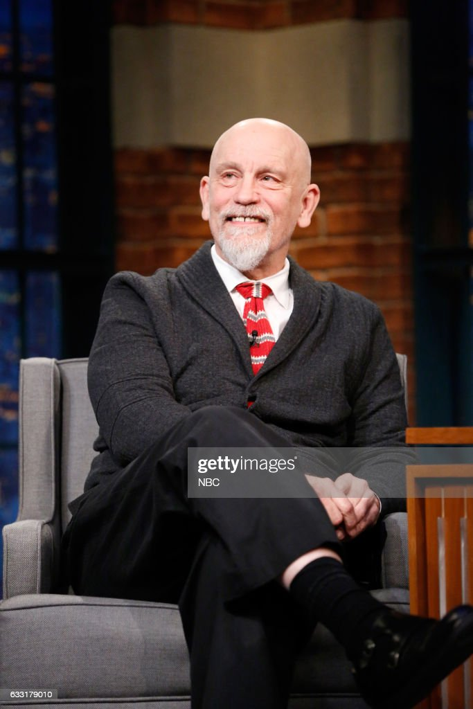 "NBC's ""Late Night With Seth Meyers"" With Guests 	John Malkovich, Corey Hawkins, Kings of Leon"