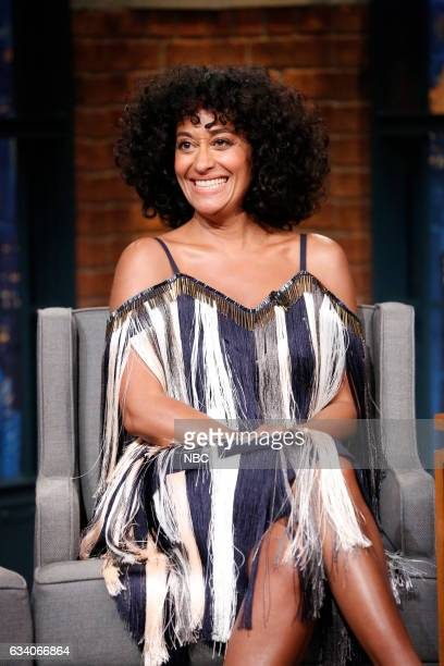 Actress Tracee Ellis Ross during an interview on February 6 2017