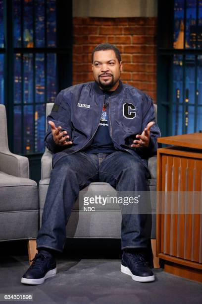 Actor Ice Cube during an interview on February 8 2017