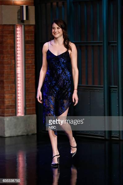 Actress Shailene Woodley arrives on February 14 2017