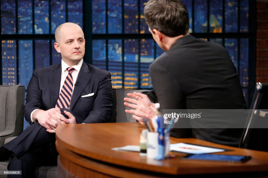 """NBC's """"Late Night With Seth Meyers"""" With Guests Shailene Woodley, Annaleigh Ashford, Evan McMullin"""