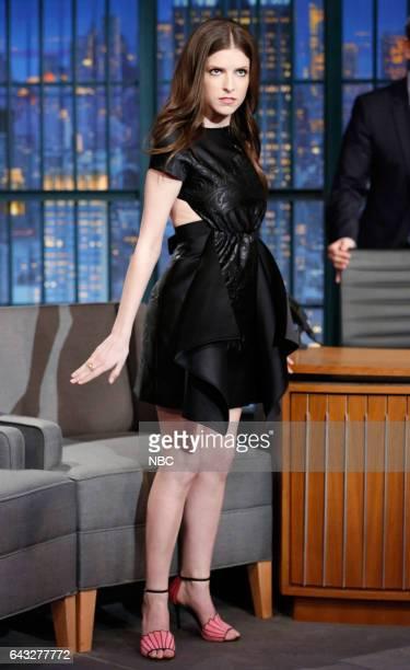 Actress Anna Kendrick arrives on February 20 2017