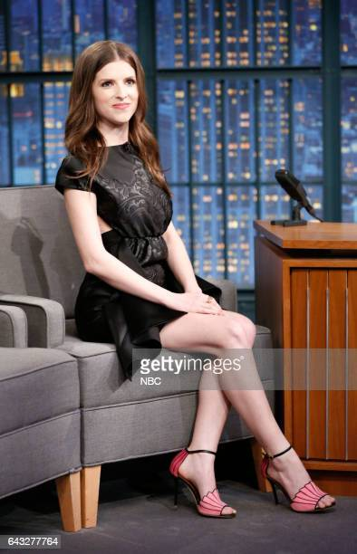 Actress Anna Kendrick during an interview on February 20 2017