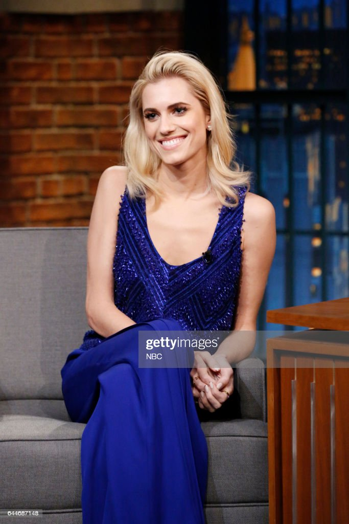"""NBC's """"Late Night With Seth Meyers"""" With Guests Allison Williams, Paul Scheer & Rob Huebel, Paul Beatty"""