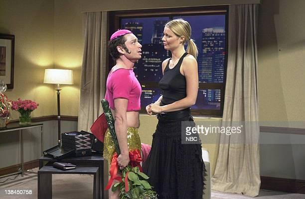LIVE Episode 5 Air Date Pictured Chris Kattan as Mango Gwyneth Paltrow during the 'Mango Gwyneth' skit on November 10 2001