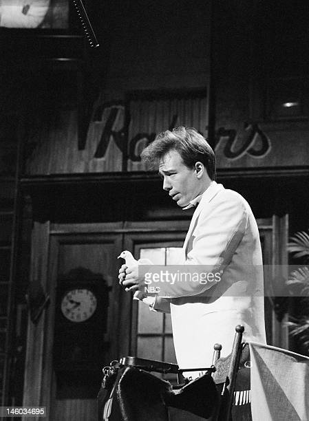 Comedian Joel Hodgson performs on November 12 1983