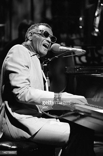 Musical guest Ray Charles performs on November 12 1977 Photo by NBC/NBCU Photo Bank