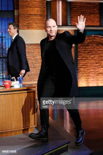 Actor Ewan McGregor arrives on March 14 2017